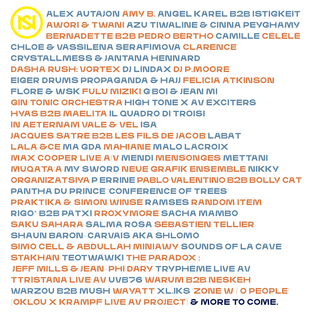 Nuits sonores 2021: Line-up unveiled! 2